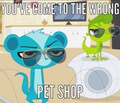 You've come to the wrong pet shop.