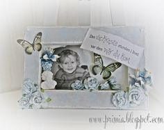 Shabby canvas with a lot of flowers
