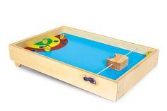 Tischflipper - Toller Flipper für den Tisch. Übung macht den Meister - dieses Spiel ist jedoch eine echte Herausforderung! Mit etwas Geschick, Training und viel Feingefühl kann aus jedem ein Flipper-Master werden. Das Spiel macht nicht nur Riesenspaß sondern trainiert nebenbei noch die Hand- und Augenkoordination. ca. 30 x 20 x 6 cm