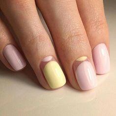 Hair Color Orange Pink Nail Nail Ideas For 2019 Minimalist Nails, Pink Nail Art, Pink Nails, Stylish Nails, Trendy Nails, Hair And Nails, My Nails, Orange Nail Designs, Nails 2017