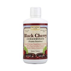 Only Natural Organic Black Cherry Concentrate (32 fl Oz)