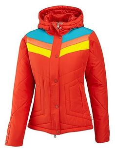 Merrell Women's Origins Hoodie by Merrell. $96.76. Optic-Warm lightweight, low-bulk synthetic insulation keeps you warm. Fun Merrell styling. Durable water resistant finish sheds moisture. 100% polyester. The great thing about this fun retro ski jacket is that you get that vintage, slim slope style AND modern efficient insulation for real warmth. People will envy your colorful silhouette, and it's your little secret that inside there's 150 grams of low bulk Optic-Warm, soft f...