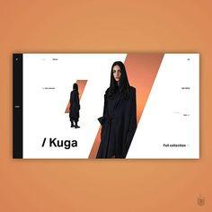 Likes, 27 Comments - Ui lab Fashion Web Design, Web Ui Design, Graphic Design Layouts, Design Blog, Web Layout, Design Studio, Layout Design, Print Design, Design Ideas