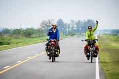 @lavidadeviaje 🚲    #cicloturismo #cycletouring #argentina #selkn #selknam #outdoors #hechoamano #chile