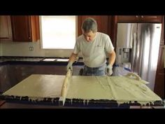 Concrete Countertop Solutions Full Instructional Video - YouTube