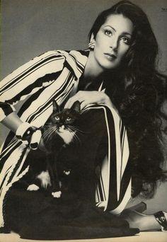 Vogue US (1974)  Cher by Richard Avedon
