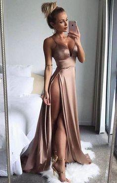 prom dresses,long prom dresses,spaghetti straps prom dresses,split-side prom dresses,sexy prom dresses,satin prom dresses