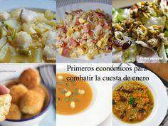 Recetas de primeros, para combatir la cuesta de enero | Cocinar en casa es facilisimo.com