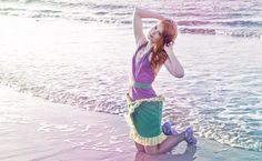 Robe moderne inspirée de la princesse Ariel : Robe par kotka-utopia