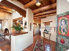 Classic New Mexico Homes - Ventanas Magazine - El Paso, Texas - Las Cruces, New Mexico. artful cabinet