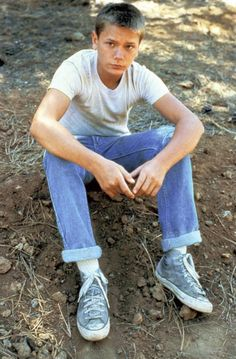 STAND BY ME, River Phoenix, 1986 | Essential Film Stars, River Phoenix http://gay-themed-films.com/river-phoenix/