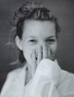 Kate Moss en noir et blanc sous l'objectif des plus grands photographes - Paolo Roversi