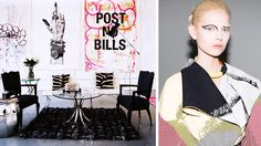 HOW TO GET THE CÉLINE LOOK AT HOME The Parisian fashion brand provides a chic decorating strategy.