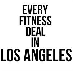 los angeles fitness deals