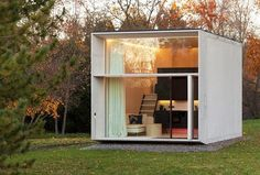 A tiny solar-powered prefabricated house that can move with its owners. With the off-grid capabilities, it can be disassembled in as little as four hours.  Reference Estonian design collective Kodasema created KODA