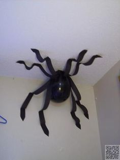60. #Balloon Spider - 60 #Ideas for a Harry #Potter Theme Party ... → DIY #Theme