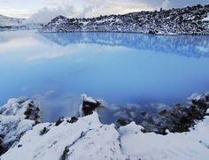 Aguas termales del Blue Lagoon. Islandia