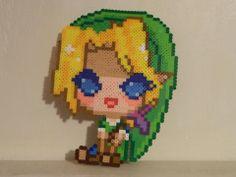 Legend of Zelda: Link Perler Beads from Trauma Tize