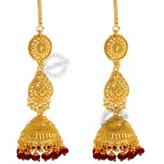 Our SARIKA EARRINGS  by Indiatrend. Shop Now at WWW.INDIATRENDSHOP.COM