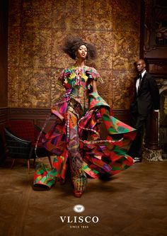 VLISCO Lures With New Campaign Collection 'SPLENDEUR' Launched Today!  This is a beautiful one from VLISCO - for the afro-centric diva who is sophisticated, feminine and loves to show the multi-faceted sides of her personality through her fashion choices.  With a splash of the grandiose and a pinch of drama, ...READ MORE http://www.divascribe.com/app/webroot/blog/?p=2244