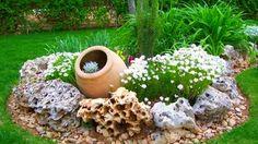gartengestaltung kleine gärten, gartendeko selber machen, garten dekorieren