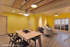 ▲ 保留舊有完好的家具,延伸出全新個人風格。