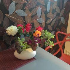 Fertig! Der Garten ist winterfertig und das war heute die letzte Ausbeute für den Küchentisch! #flowers