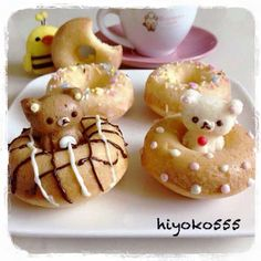 ❤ Kawaii Box ❤ The Cutest Subscription Box ❤ Japanese Sweets, Japanese Food, Japanese Pastries, Desserts Japonais, Cute Food, Yummy Food, Kawaii Dessert, Cute Donuts, Cute Desserts