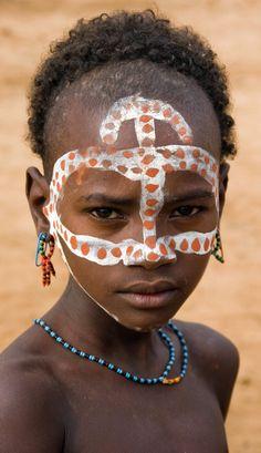 Africa | Hamer child.  Omo Valley, Ethiopia | ©Izla Kaya Bardavid