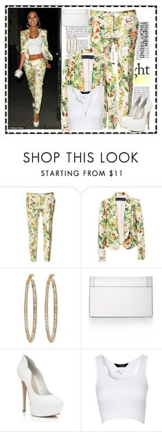 """floral bomb"" by winterdel ❤ liked on Polyvore featuring Zara, Forever New, BCBGMAXAZRIA, Carvela Kurt Geiger, Jane Norman and Luv Aj"