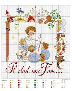Vintage Children with Alphabet Cross Stitch Pattern Cross Stitch Letters, Cross Stitch For Kids, Cross Stitch Kitchen, Cross Stitch Books, Mini Cross Stitch, Cross Stitch Samplers, Cross Stitch Charts, Cross Stitch Designs, Cross Stitching
