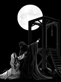 "• La Esmeralda & Claude Frollo from ""The Hunchback of Notre-Dame"" (2010)"