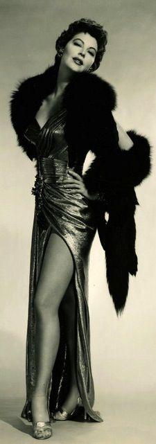 Ava Gardner photographed by Virgil Apger, 1950's. ......Uploaded By…