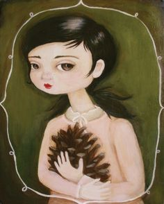Prudence & Pinecone by Black Apple.  I love Emily Martins work so much!!