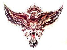 Эскизы татуировки орёл. Рисунки тату