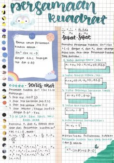 Life Hacks For School, School Study Tips, School Lessons, Math Lessons, Math Notes, Math Formulas, Study Journal, Study Hard, Bullet Journal Ideas Pages