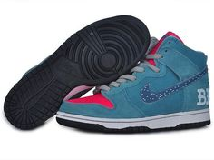 best service d4f11 f7ea4 NIKE DUNK SB HIGH MENS BLUE INLAY RED SALE 67.84 Nike Shoes Online,  Discount Nike