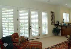 living rooms with french windows - Google Search