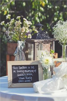 These are some truly remarkable ways to remember a lost one at your wedding.