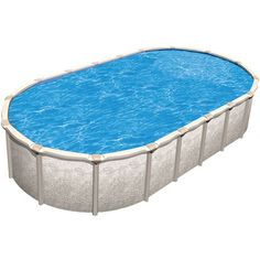 Trinity 52 in resin above ground pool 15 39 x25 39 d - Is there sales tax on swimming pools ...