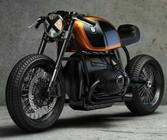 BMW R-1 Cafe Racer.