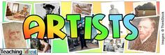 **** Awesome Artist of the month lesson plans Artists