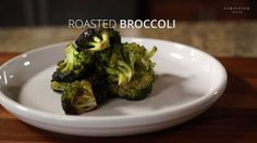 When you roast broccoli you get an amazing nutty flavor with a bit of sweet. They're packed with vitamins and nutrients. Just add a little olive oil and salt/pepper. New Recipes, Baking Recipes, Vegetarian Recipes, Dinner Recipes, Game Changer, Taste Buds, Broccoli, Olive Oil, Breakfast Recipes