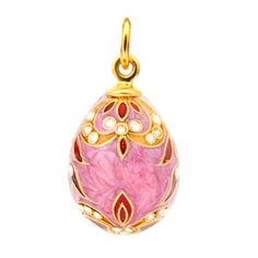 Sunrise Egg Pendant Pink, £56, now featured on Fab.