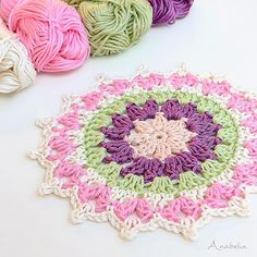 Blog update: Mini #mandala, last weekend funny #crochet project.  anabeliahandmade.blogspot.com  Happy Friday, my dears!  #anabeliacraftdesign #crochetmandala #crochetdoily #crochetdoilies #crochetmotif #hakeniscool #hakeniship #igcrocheters