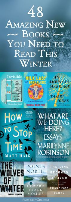 Looking for the perfect book to snuggle up with this winter? Check out one of these amazing new books!