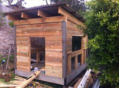 Wooden Pallet Cubby House