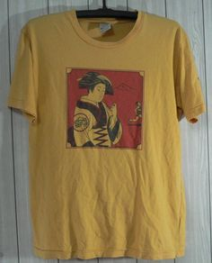 9766b854f757 vintage Cascade Run off geisha girl nike tshirt pinwheel Size Medium RARE  by OHCHYVINTAGE on Etsy