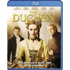 The Duchess [Blu-ray] (2008), (blu-ray, keira knightley, historical drama, british history, period piece, ralph fiennes, adventure, gay character, period movie, royalty)