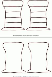 Great Dr. Seuss hat patterns for crafts